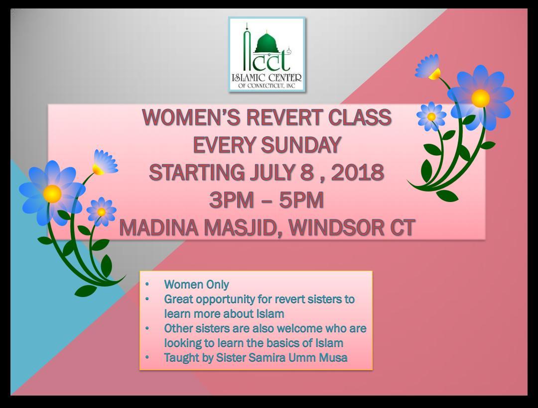 Woman's Revert Class